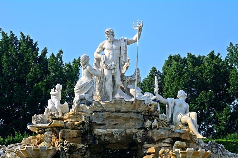 Palacio de Schonbrunn, Viena, Austria fotografía de archivo libre de regalías
