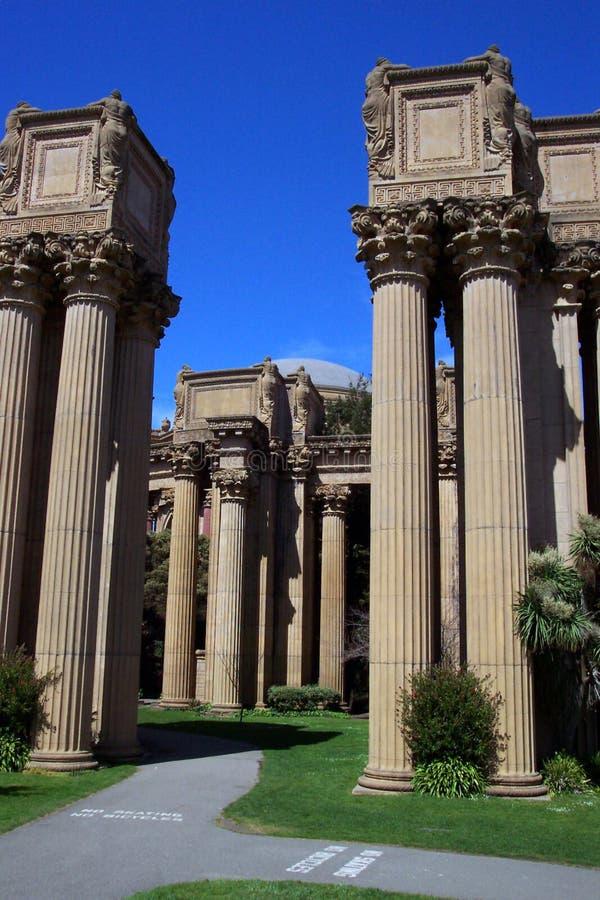 Palacio de SF de Arts_II fino foto de archivo