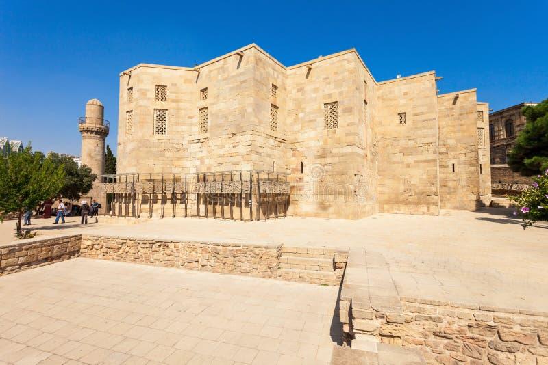 Palacio de Shirvanshahs en Baku fotos de archivo libres de regalías