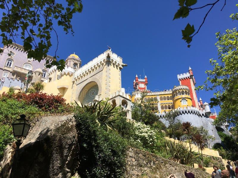 Palacio de Sintra en Portugal fotografía de archivo