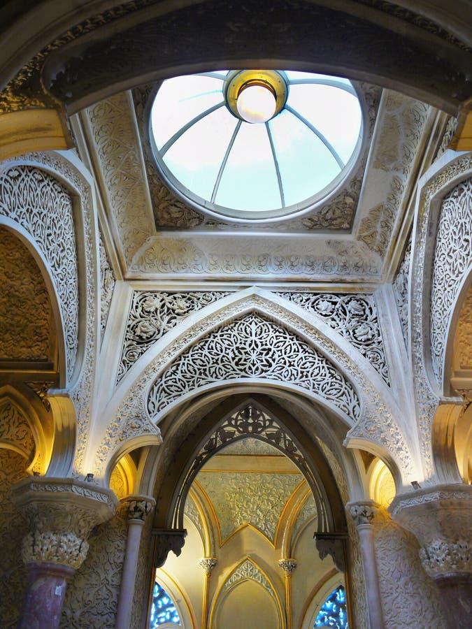 Palacio de Sintra, Portugal imagen de archivo
