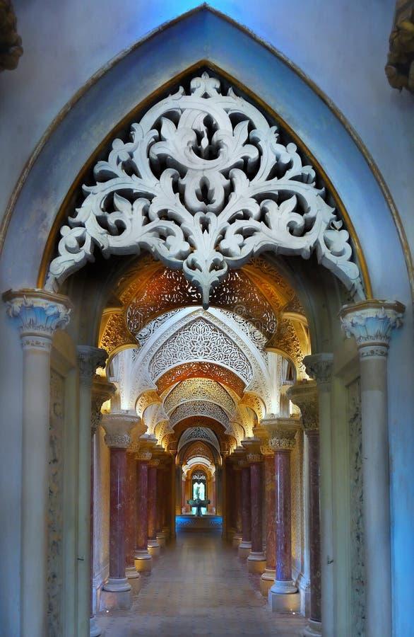 Palacio de Sintra, Portugal imagen de archivo libre de regalías