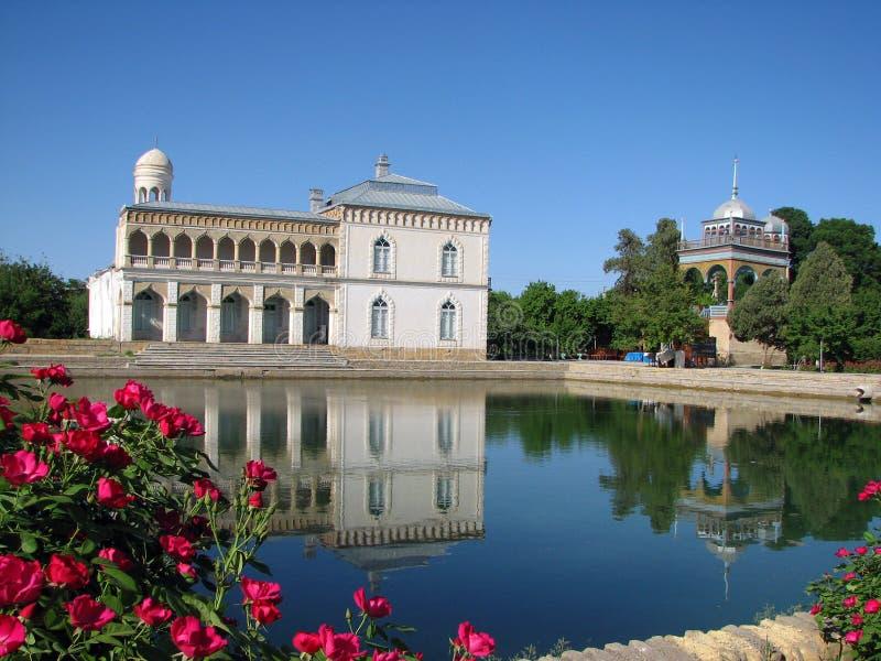 Palacio de Sitorai Mokhi-Khosa en Bukhara imagen de archivo libre de regalías