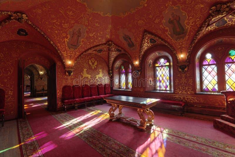 Palacio de Terem, la cámara cruzada fotos de archivo