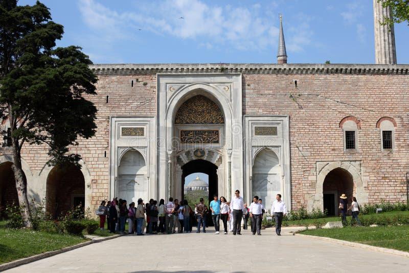Palacio de Topkapi en Estambul imágenes de archivo libres de regalías