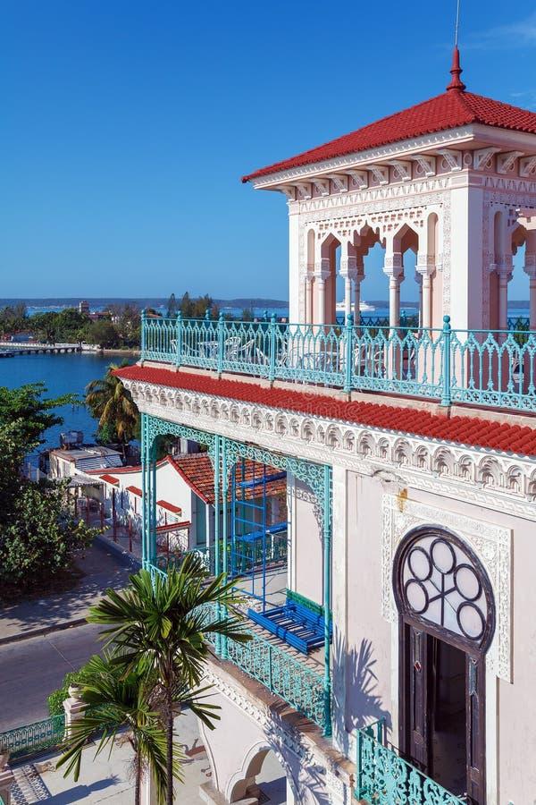 Palacio De Valle (1913-1917), Cienfuegos lizenzfreie stockfotografie