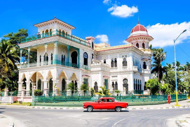 Palacio de Valle, Cienfuegos, Cuba foto de stock