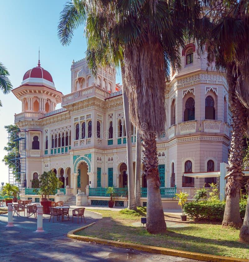 Palacio de Valle (1913-1917), Cienfuegos. Cuba stock photo