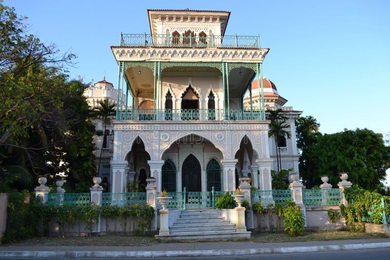 Palacio de Valle, Cienfuegos, Cuba imagem de stock
