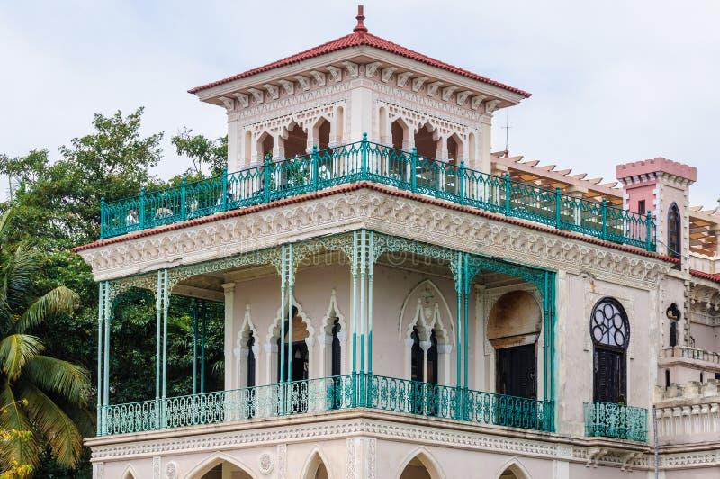 Palacio de Valle em Cienfuegos, Cuba foto de stock royalty free