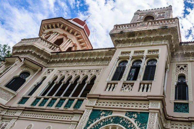 Palacio de Valle em Cienfuegos, Cuba imagens de stock