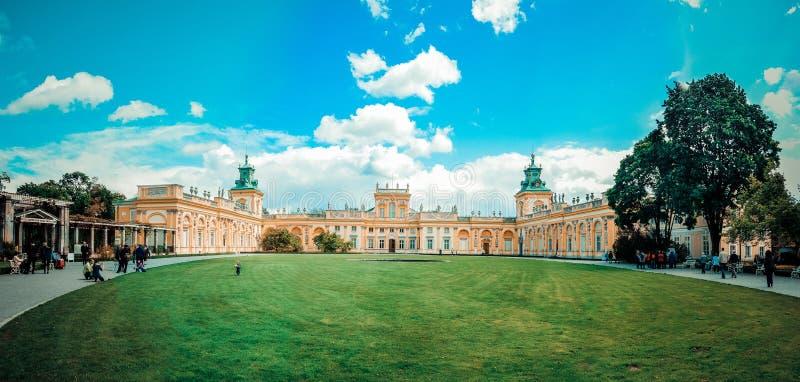 Palacio de Varsovia fotos de archivo