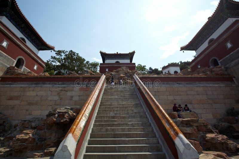 Palacio de verano de China fotografía de archivo libre de regalías
