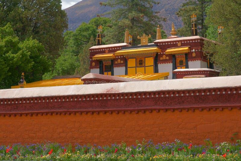 Palacio de verano de Norbulingka fotografía de archivo