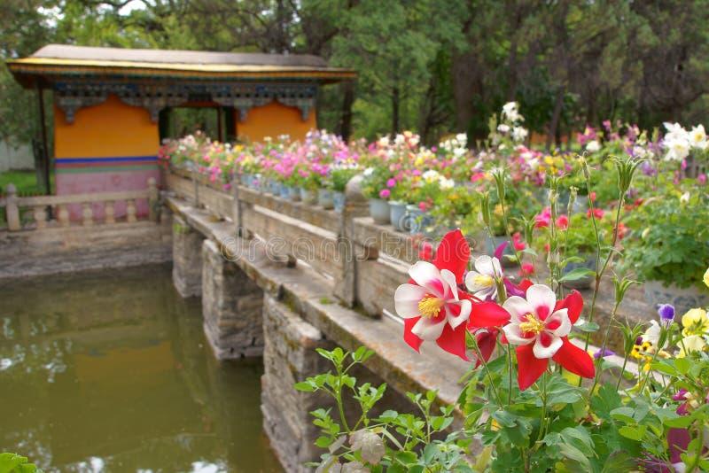 Palacio de verano de Norbulingka imagen de archivo