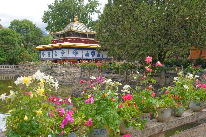Palacio de verano de Norbulingka foto de archivo