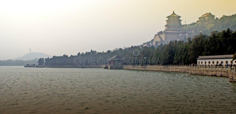 Palacio de verano de Pekín imagenes de archivo