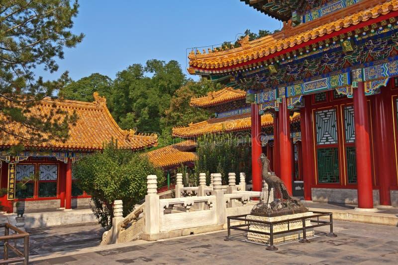 Palacio de verano, Pekín China fotografía de archivo libre de regalías