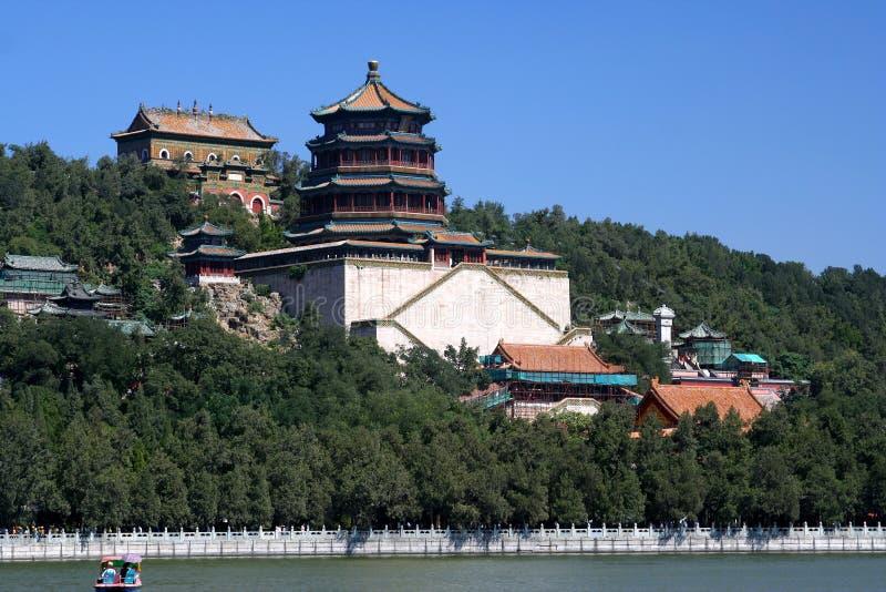 Palacio de verano, Pekín, China fotografía de archivo