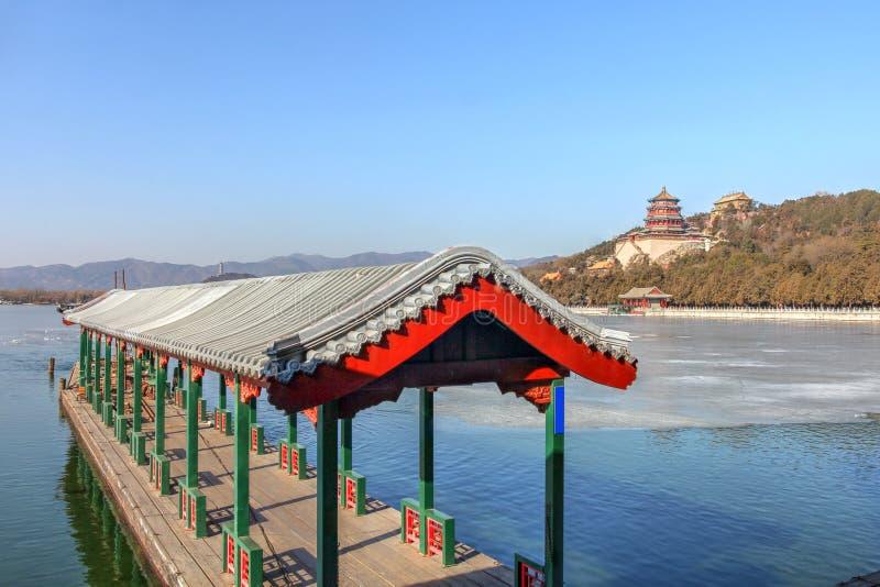 Palacio de verano, Pek?n, China foto de archivo