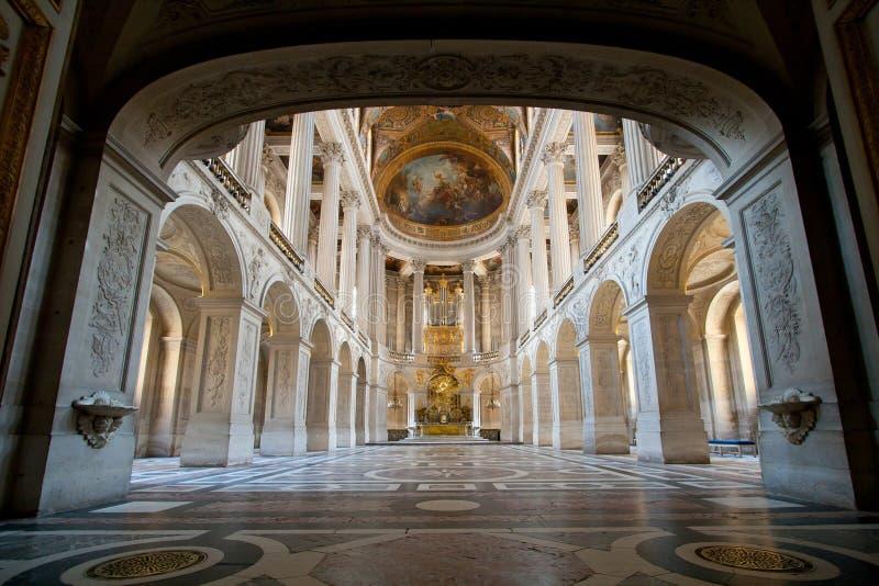 Palacio de Versaille del salón de baile fotografía de archivo libre de regalías