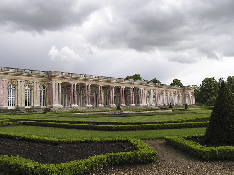 Palacio de Versalles 1 fotografía de archivo libre de regalías