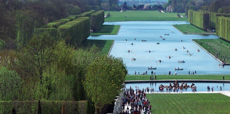 Palacio de Versalles imagen de archivo