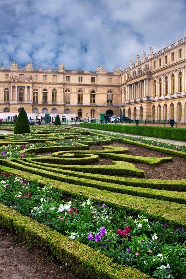 Palacio de Versalles en Francia foto de archivo