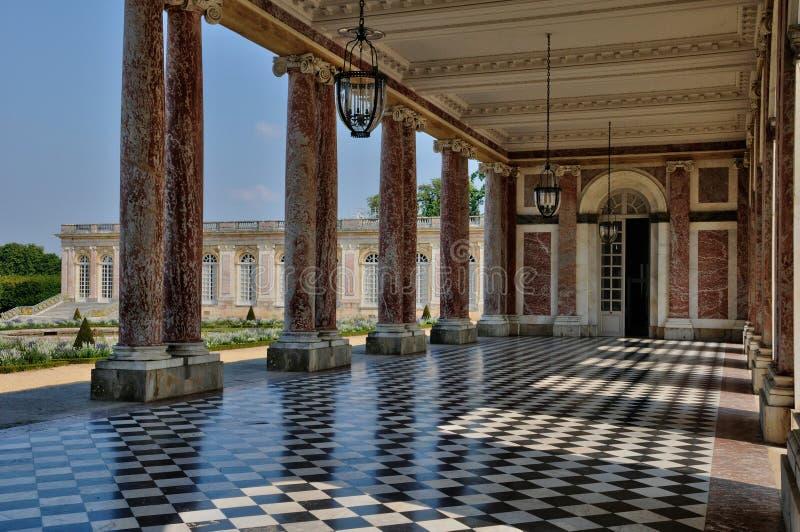 Palacio de Versalles en Ile de France foto de archivo
