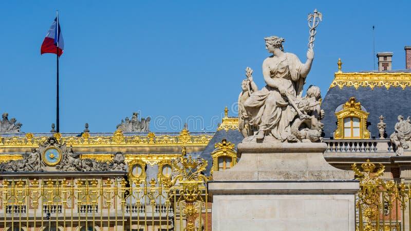 Palacio de Versalles, París imagen de archivo libre de regalías