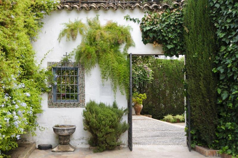 Palacio de Viana - Typical Andalusian patio stock photo