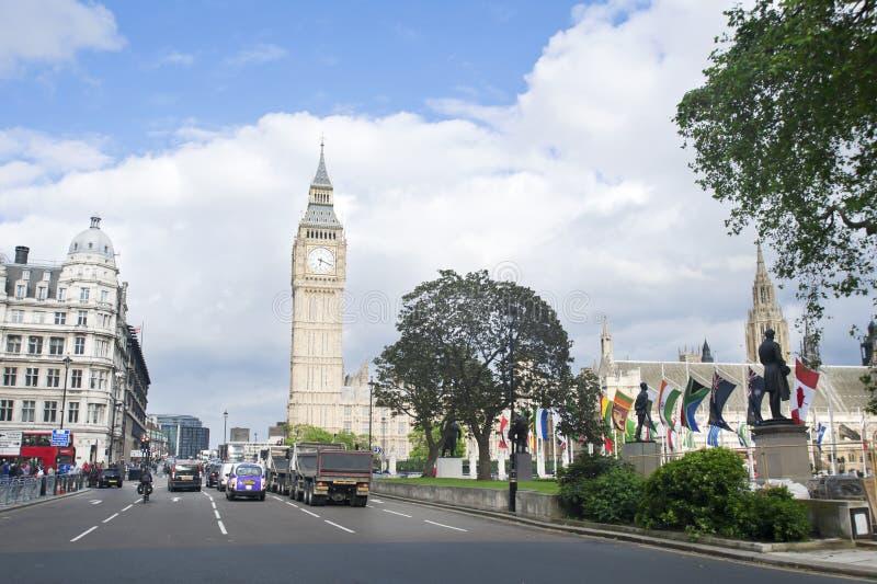 Palacio de Westminster, Ben grande foto de archivo libre de regalías