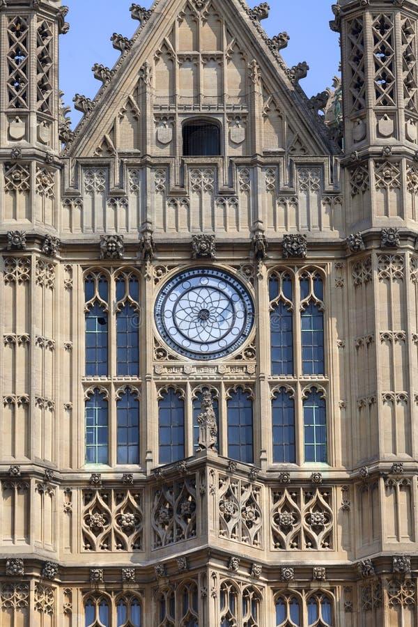 Palacio de Westminster, el parlamento, fachada, Londres, Reino Unido imagen de archivo libre de regalías