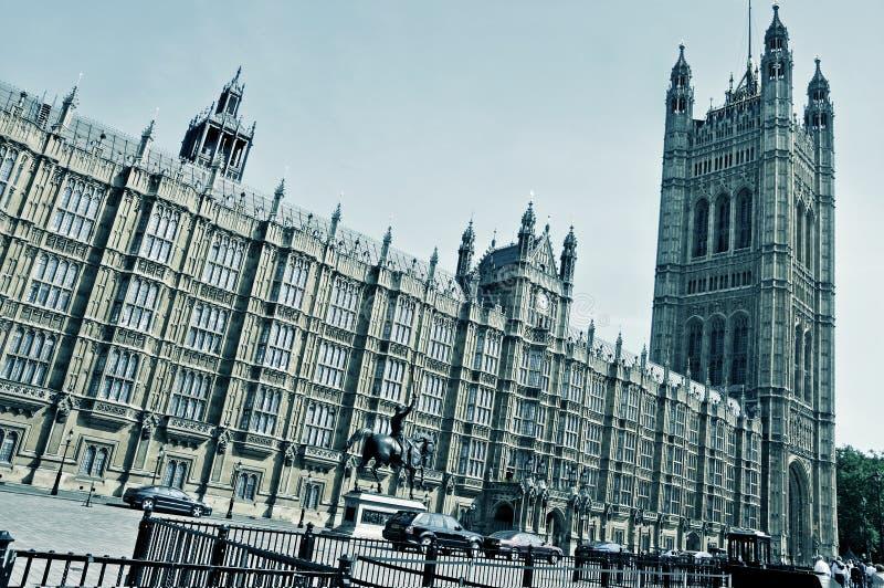 Palacio de Westminster, Londres, Reino Unido fotografía de archivo libre de regalías