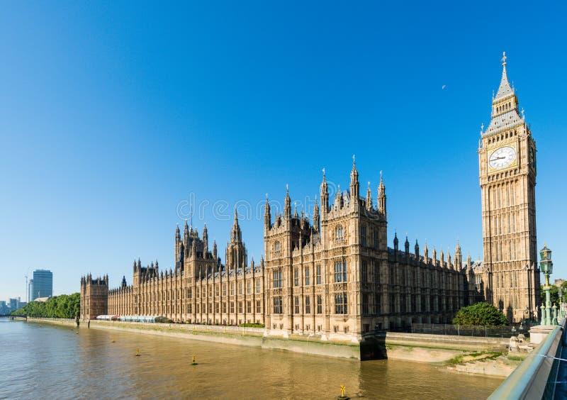 Palacio de Westminster, Londres, Reino Unido imágenes de archivo libres de regalías