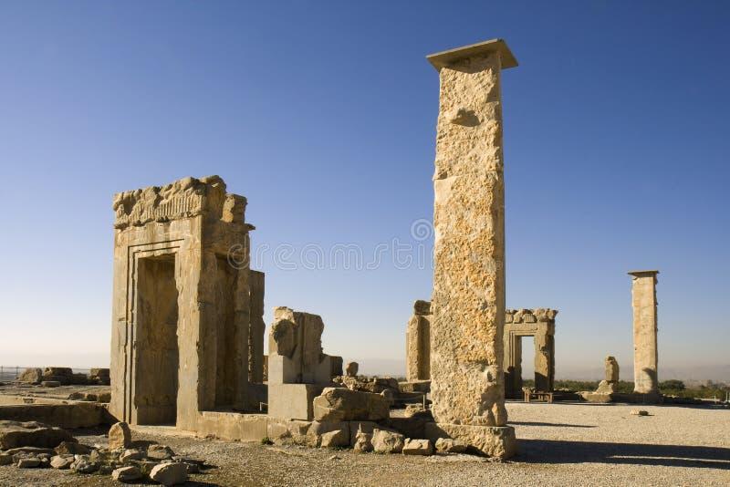 Palacio de Xerxes foto de archivo