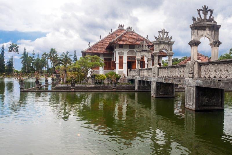 Palacio del agua de Taman Ujung imagen de archivo libre de regalías