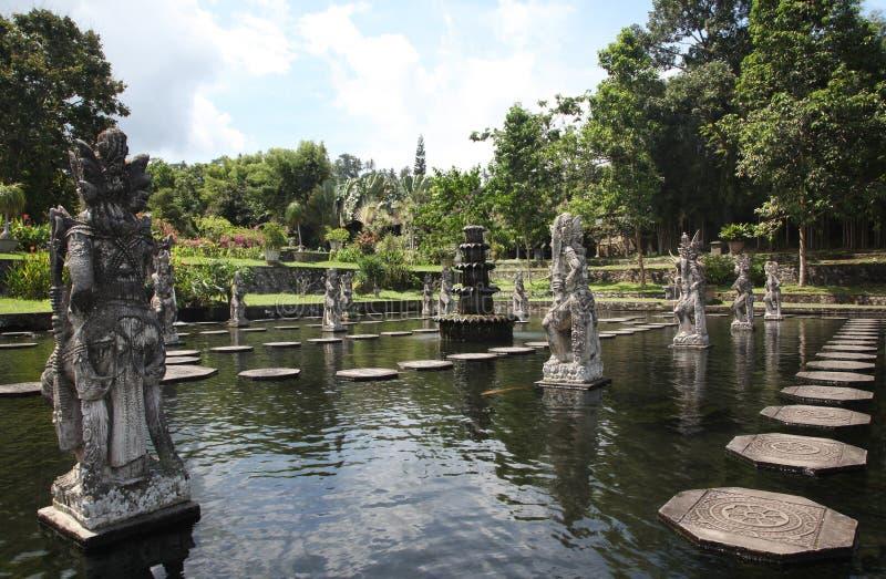 Palacio del agua de Tirtagangga imagen de archivo libre de regalías
