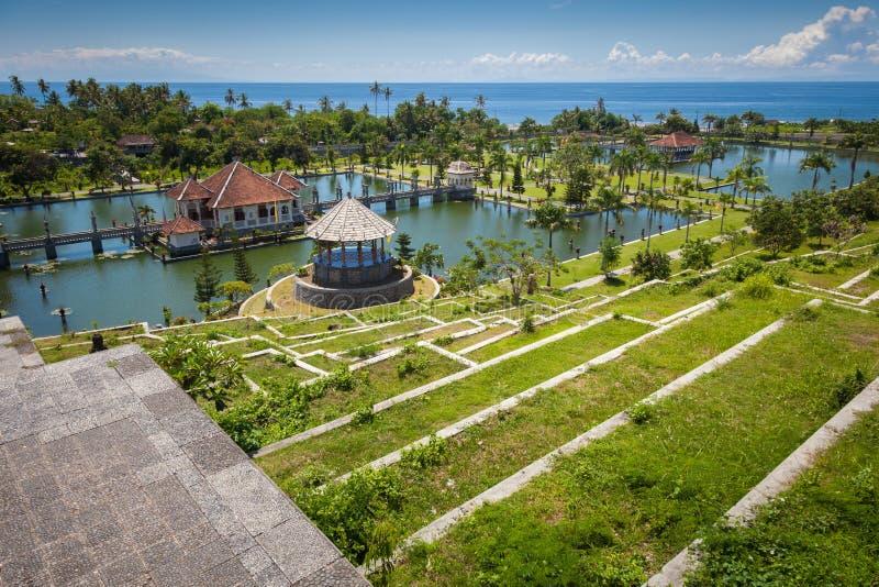 Palacio del agua de Tirtagangga Taman Ujung indonesia fotos de archivo