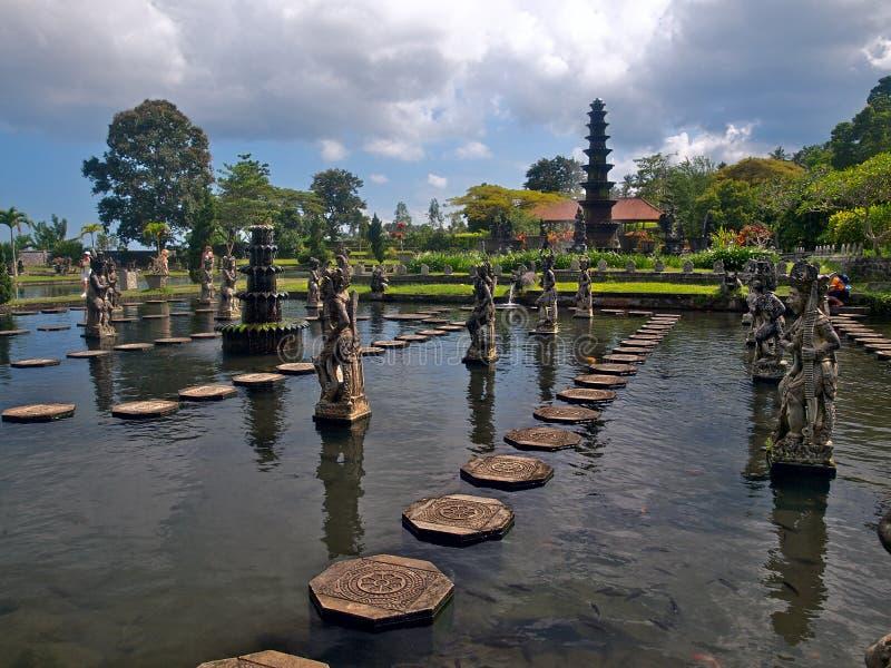 Palacio del agua del Balinese imágenes de archivo libres de regalías