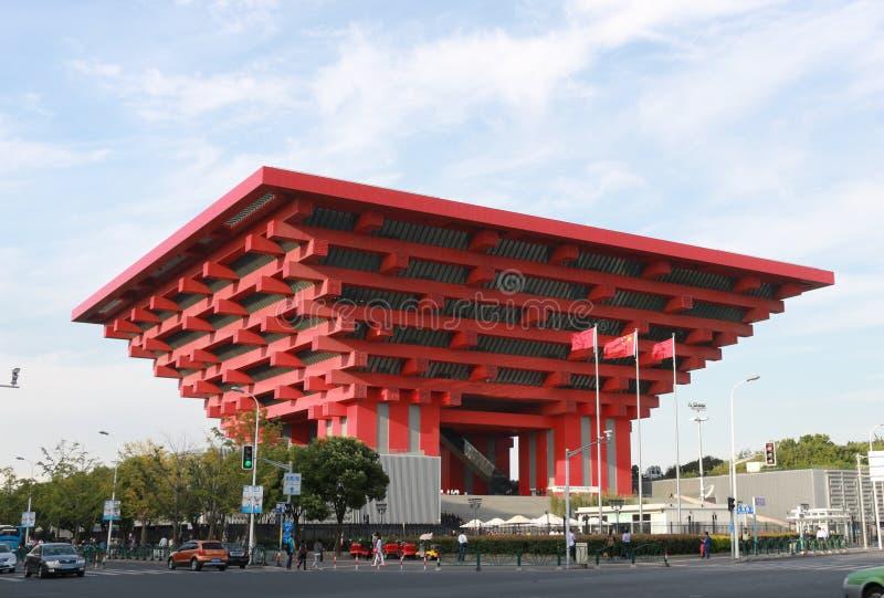 Palacio del arte de China de Shangai fotos de archivo libres de regalías