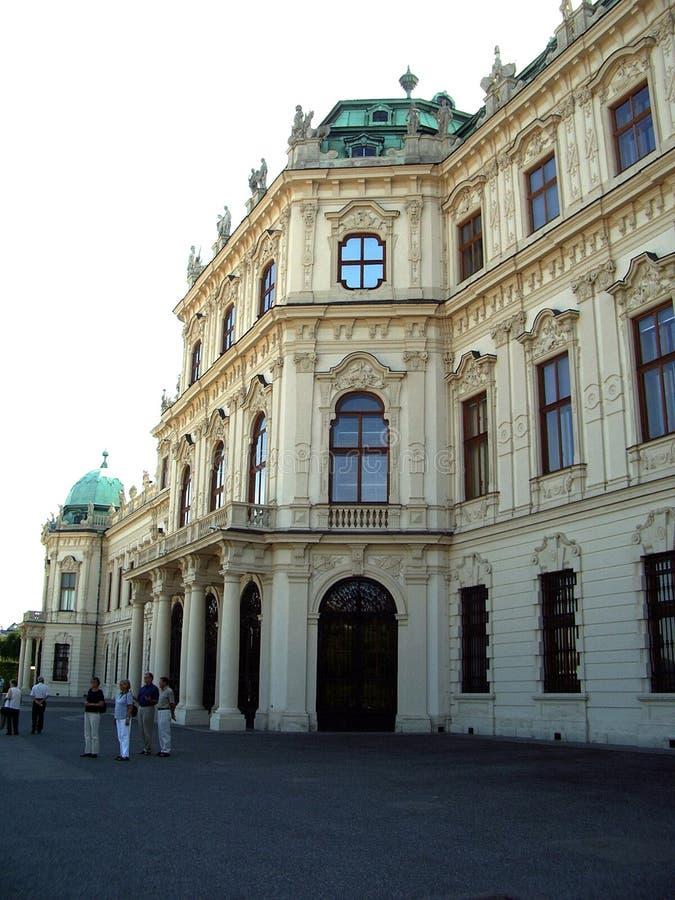 Palacio del belvedere - Viena foto de archivo libre de regalías
