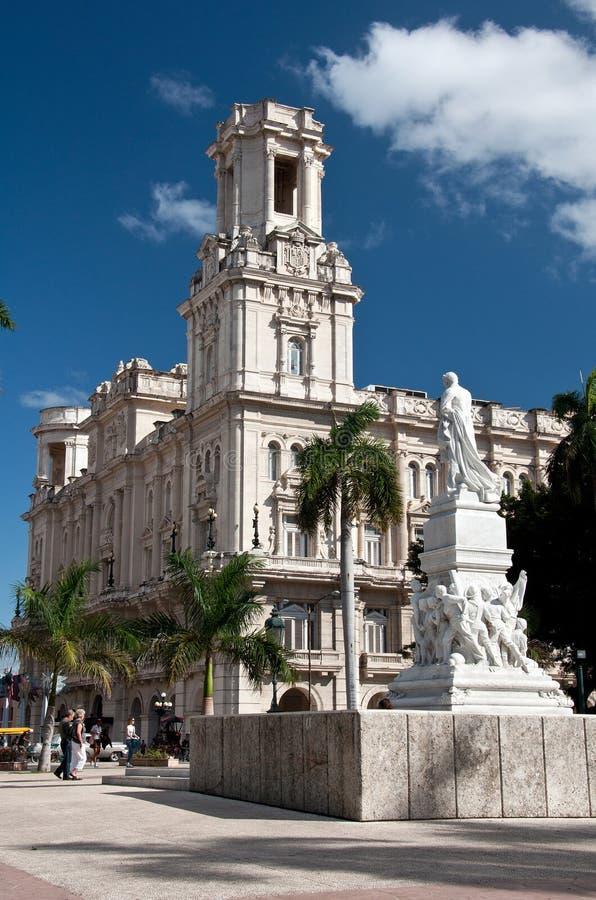 Palacio del Centro Asturiano, La Havane, Cuba photographie stock