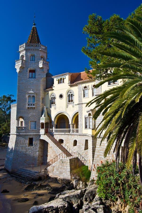 Palacio del Condes de Castro Guimaraes fotos de archivo