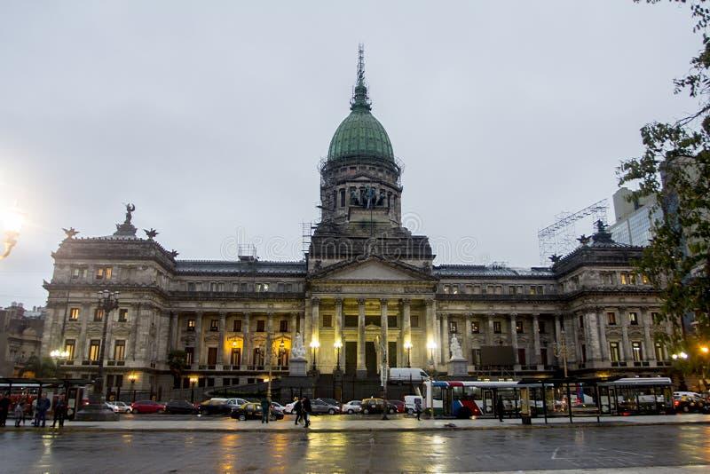 Palacio del Congreso Congress Building Buenos Aires government Monserrat Argentina Latin America South America. Cool royalty free stock photos