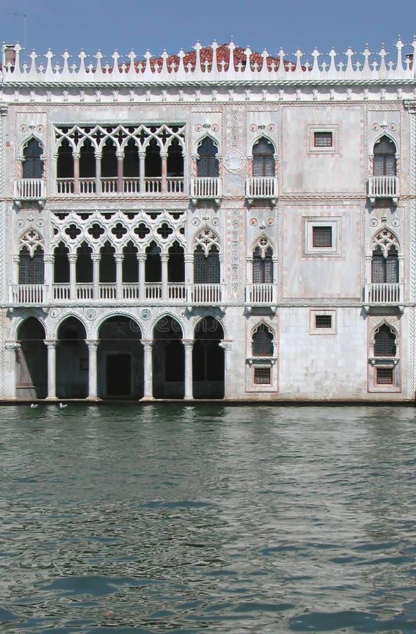 Palacio del d'Oro de Ca, Venecia, Italia foto de archivo libre de regalías