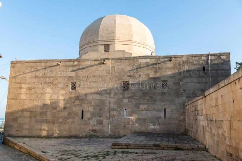 Palacio del edificio de Shirvanshahs en Baku, Azerbaijan fotografía de archivo