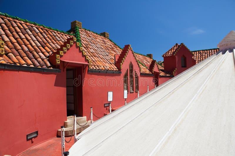 Palacio del EL Capricho del arquitecto Gaudi, Comillas, España foto de archivo