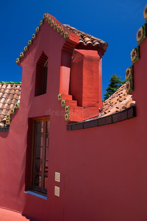Palacio del EL Capricho del arquitecto Gaudi, Comillas, Espa?a fotos de archivo