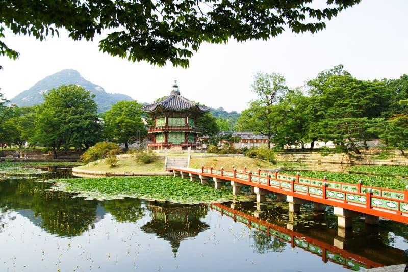 Palacio del emperador en Seul foto de archivo libre de regalías